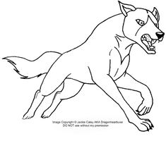 New Ginga LineArt 5 by DragonHeartLuver