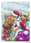 Koopa Christmas by Libellchen174