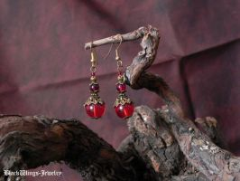 Fire towers by BlackWings-jewelry