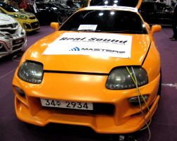 Supra Turbo In Orange by toyonda