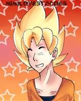 Goku :D by MiMiLovesTacoes
