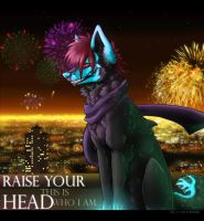 Raise your head by neonspider