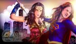 Wonder Woman 2017 and Super Girl 2017 by itsyouram
