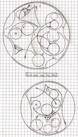 Some new line techniques - Gallifreyan by Kindley-Pixel