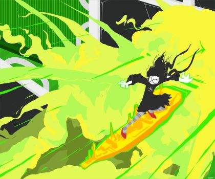 Jade Shredding a Tidal Wave of 4th Wall by AlmightyWill