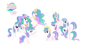 Princess Celestia is the Best Pony by VickyBoniek