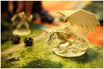 Jugando con dragones - Playing with dragons by juanmadiaz