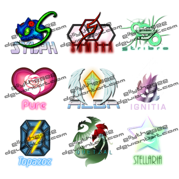 Sonic characters DJ logo series extended by Azurelly