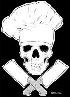 jimenez_Skull_Chef by pumpkintrauma
