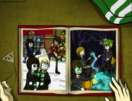 my book with harry potter by ren-danny