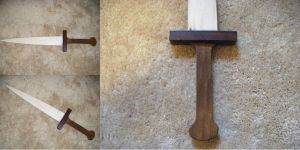 Wooden Short Sword by Ley-lee-meister
