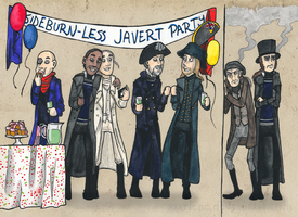 Sideburnless Party by Starlene