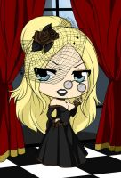 Chibi Steampunk Series - The Widow by Mibu-no-ookami