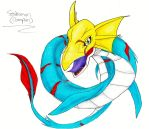 DW: .:Seadramon - Champion Form:.-C by Superdemon-Inuyasha
