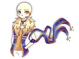 [Undertronic] Sans (with Outertale Outfit) o3o by SharaXOfficial