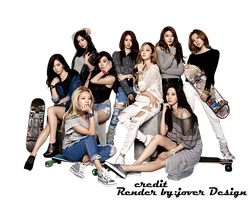 Snsd baby G Png Render by Jover-Design