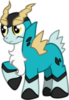 My Little Cobalion by Piniee