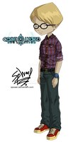 Code Lyoko Evolution: Jeremie Real World Outfit by FireLordWael