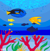 Fishes for Draw Something by zachjacobs