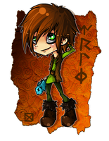 :-Chibi-Hiccup-: by Arkeresia