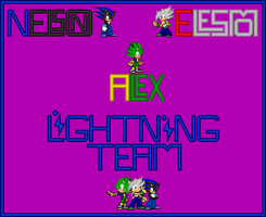 Lightning Team by ElesmoTheHedgehog