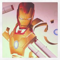Iron Man 3: Mark 42 WIP by smlshin