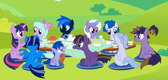 Family teatime by NortherntheStar