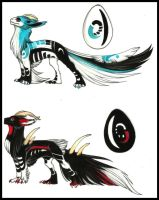 Eggs 1 and 2 hatched by Spirits-adopts