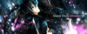 Black Rock Shooter signature by Kite136
