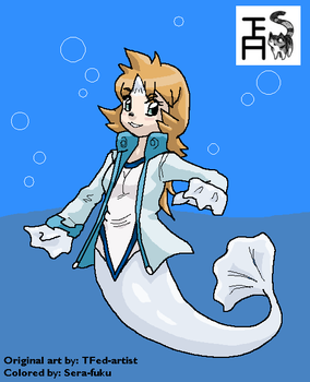 Selkie (Dewgong) Misty Colored (for TFed-artist) by Sera-fuku