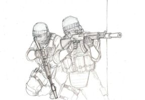 Spetsnaz sketch by ThomChen114