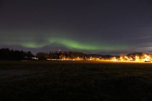 Northern lights by MeLoveSheep