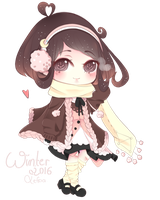 [Milkychan] Winter 2k16 Outfit by Lefpa