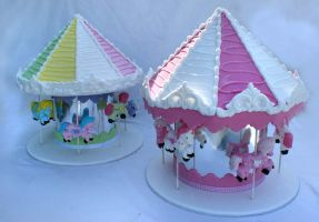 Carousels Cake by Verusca