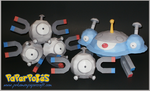 Magnemite and Evolutions by Skeleman