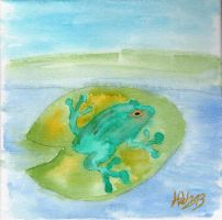 Frog by silverbullet72