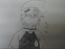 Soul Eater Evans by ilovescaryklowns