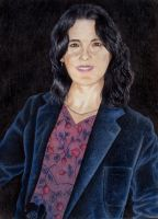 Portrait of my Mother by johnlanthier