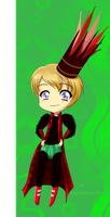 agenthal chibi non-animated by angelbunny1391