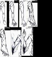 Arms and hands by SeanSamael