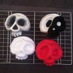 WIPs - Molded Felt Skulls by AlwaysSuagarCoated