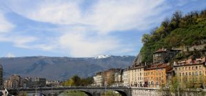 Grenoble II by Helliew