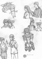The Rudies- Sketches by Jinxster101