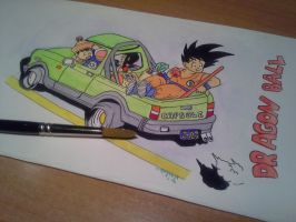 Trip with Dragon Ball's family by delPuertoSisters
