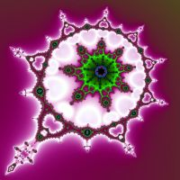 Baroque Green White Purple by element90