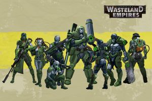 Wasteland Empires: Tier 8 by ArtofTu
