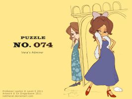 Puzzle 074 - Vera's Admirer by nattherat