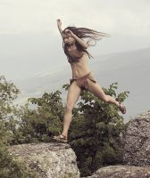 Jumping girl #2 by ohlopkov