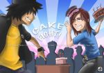 Cake Fight by Tetido