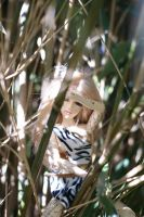 Ayla In Trees 2 by beedoll